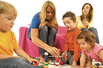 Home-Start West Lothian family support